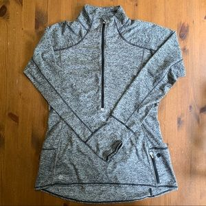 Athleta Quarter Zip Top